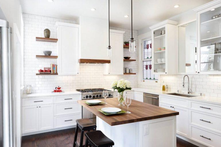 Цветовые сочетания на кухне должны гармонировать друг с другом и удовлетворять всех членов семьи
