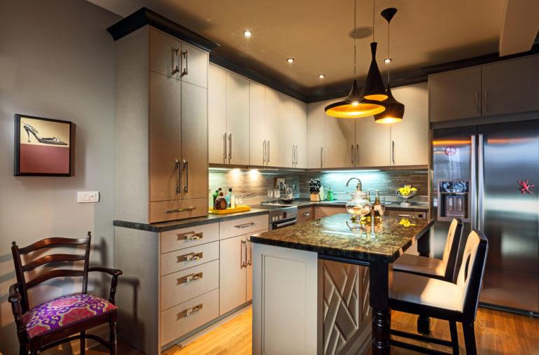 Функциональное и красивое освещение кухни