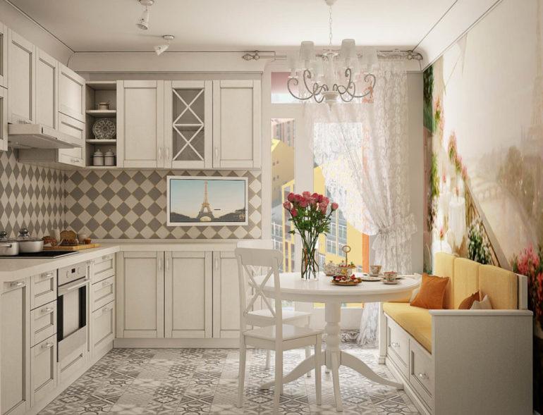 Совмещение кухни с гостиной подходит людям, которые между готовкой и отдыхом в большей степени выбирают последний