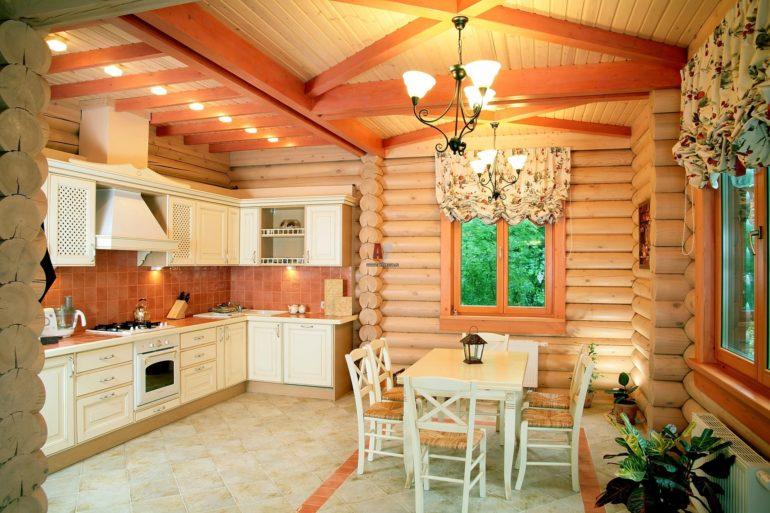 Выбор покрытия для пола на кухне зависит во многом от конструкции самого дома и технической возможности обустройства цементной стяжки
