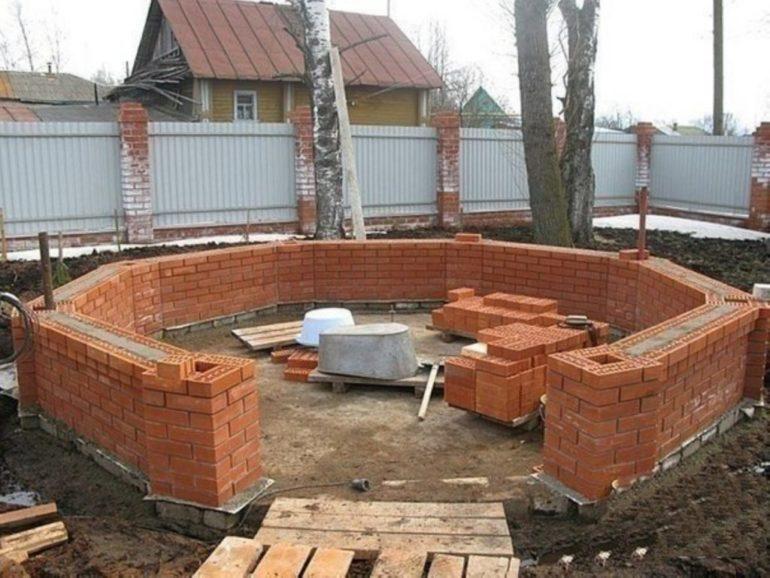 Возведение кирпичных стен потребует навыков каменщика