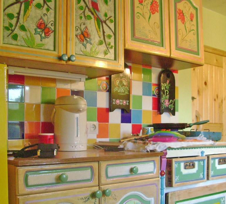 Декорирование кухонного гарнитура своими руками