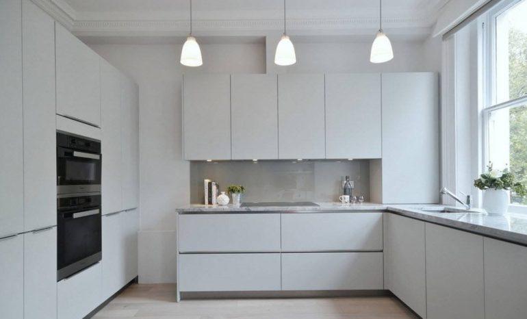 П-образная планировка кухонного пространства