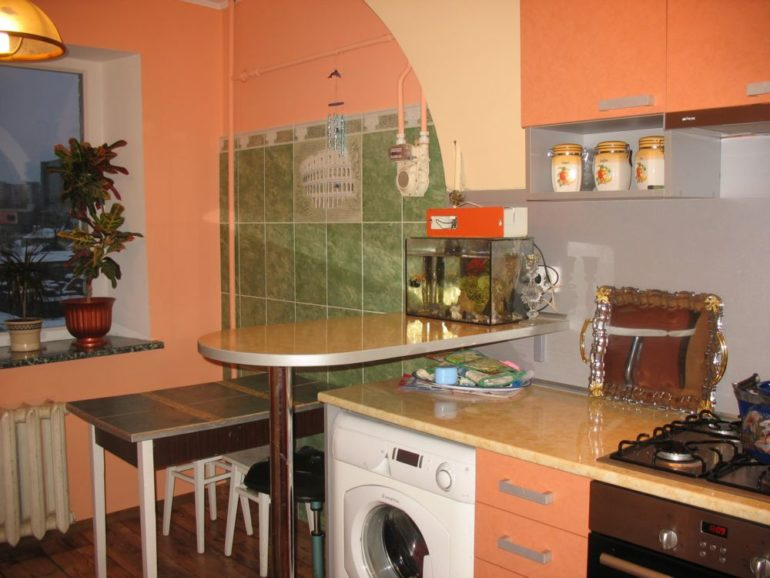 Самое бюджетное решение – приобретение стандартного гарнитура с оптимальными для вашей кухни размерами